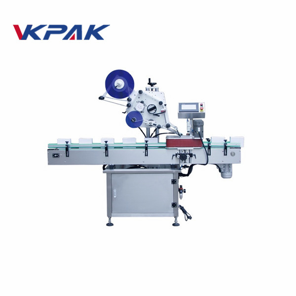 Fully Automatic Top Labeling Machine For Plastic Empty Envelope Bag Labeling