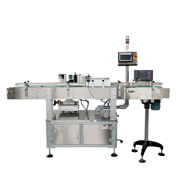Glass Bottle Label Applicator Single Side Automatic Labeler Machine