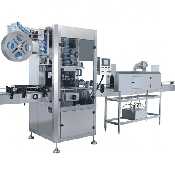 Heat Shrink Sleeve Labeling Machine With Shrink Tunnel ISO 9001 Certification