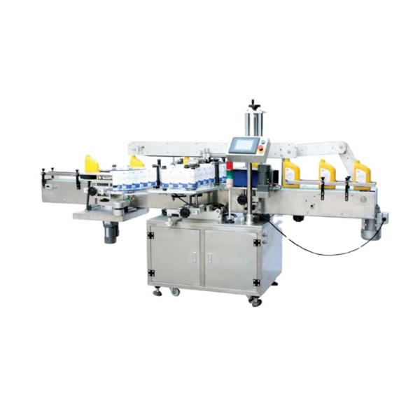 High Accuracy ±1mm Square Bottle Labeling Machine One Year Warranty