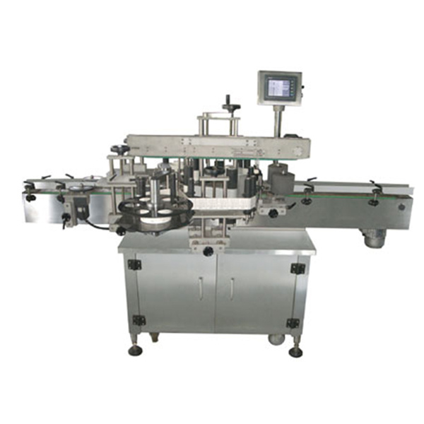 High Accuracy Bottle Sticker Labelling Machine For Self Adhesive Sticker Square Bottle