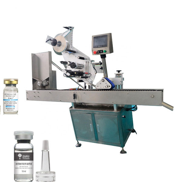 High Accuracy Economy Automatic Double Sides Vial Labeling Machine
