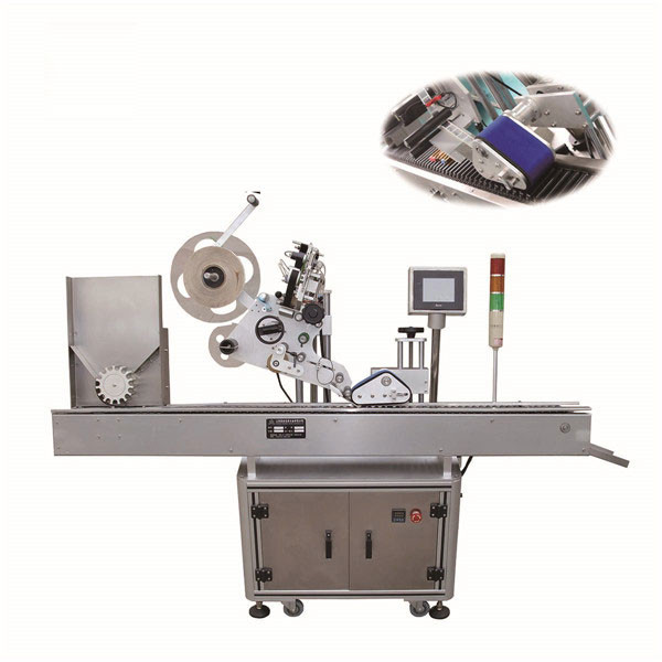 High Accuracy Egg Tray Vial Labeling Machine 220V With PLC Control System