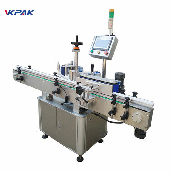 High Labeling Speed Round Bottle Labeling Machine For Automatic Dairy & Juice