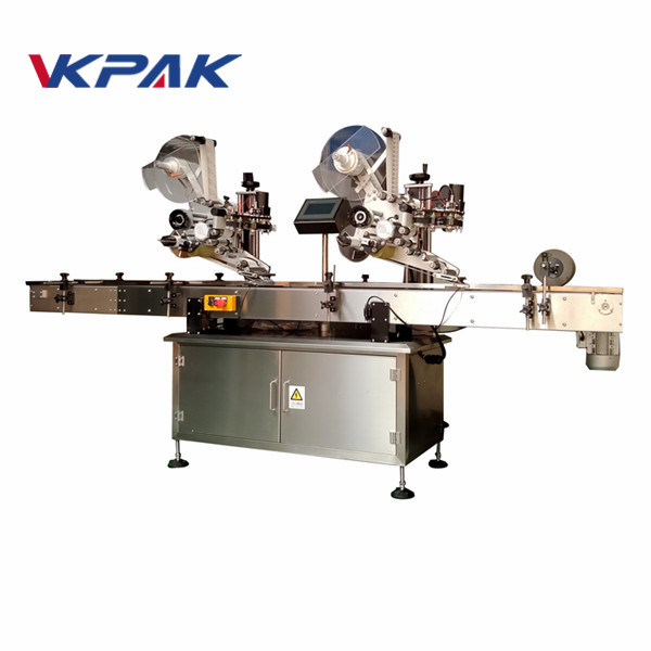 High Speed Automatic Flat Surface Label Applicator Supplier For Medicine Box