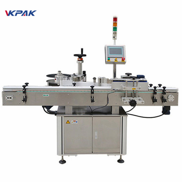 High Speed Automatic Round Bottle Labeling Machine For Glass Bottle