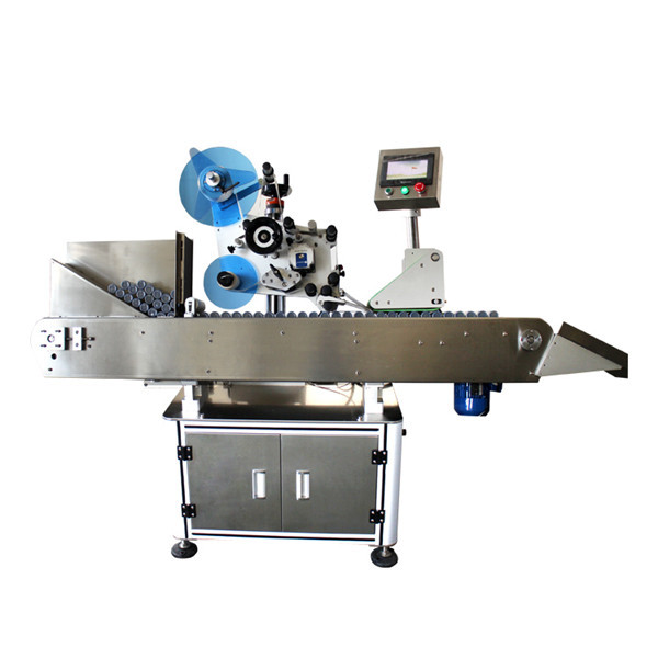 High Speed Industrial Bottle Vial Sticker Labeling Machine