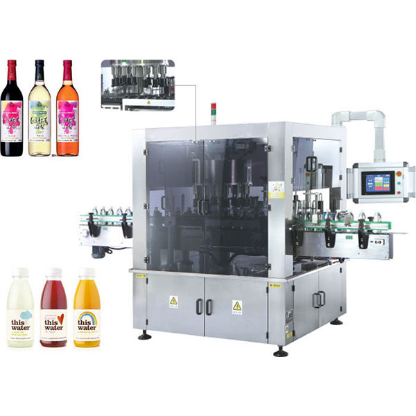 High Speed Rotary Sticker Labeling Machine With Rotation Function