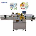 High Speed Round Bottle Labeling Machine For Beverage / Food / Chemical