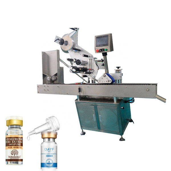High Speed Sus304 Economy Automatic Carton Top And Bottom Vial Labeling Machine