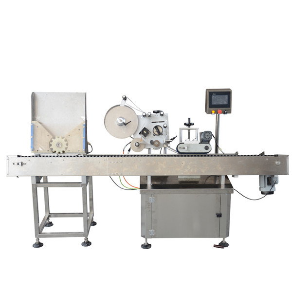 High Speed Vial Labeling Machine Small Bottle Labeling Machine