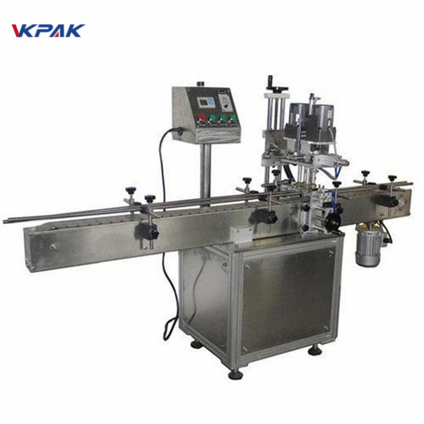 Industrial Double Sided Round Bottle Labeling Machine For Cosmetics Products