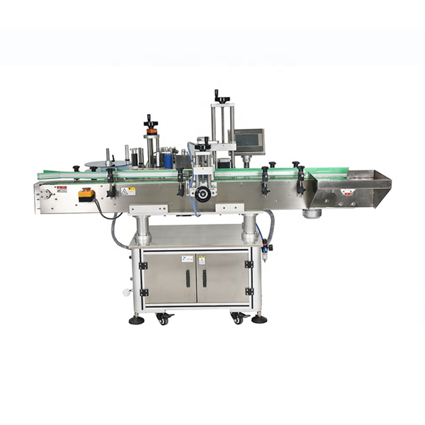 Intelligent PLC Control Automatic Double Side Stickers Labeling Machine