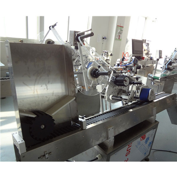 Label Envelope Automatic SUS304 Vial Labeling Machine