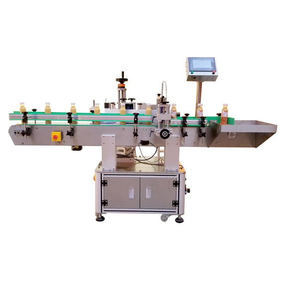 Linear Vertical Four Labels Stick Labeling Machine