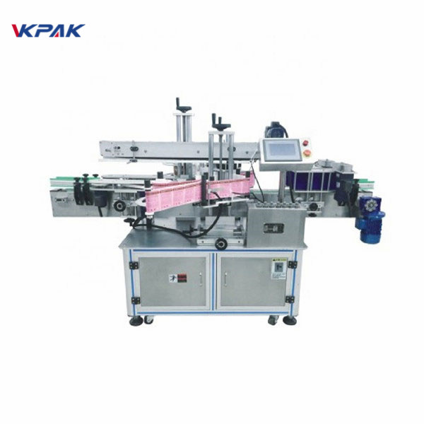 Liqueur Round Glass Bottle Adhesive Labeling Machine Alcohol Industry