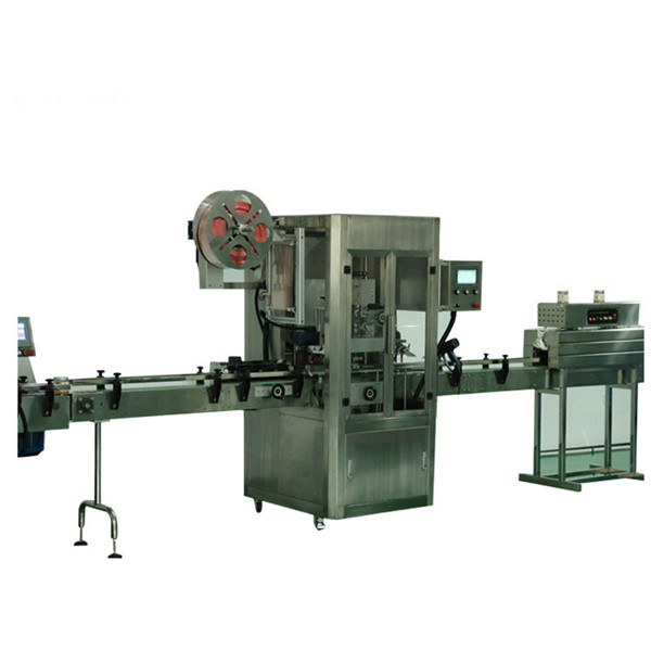 Min Tin Can Shrink Sleeve Labeling Machine For PET Bottle