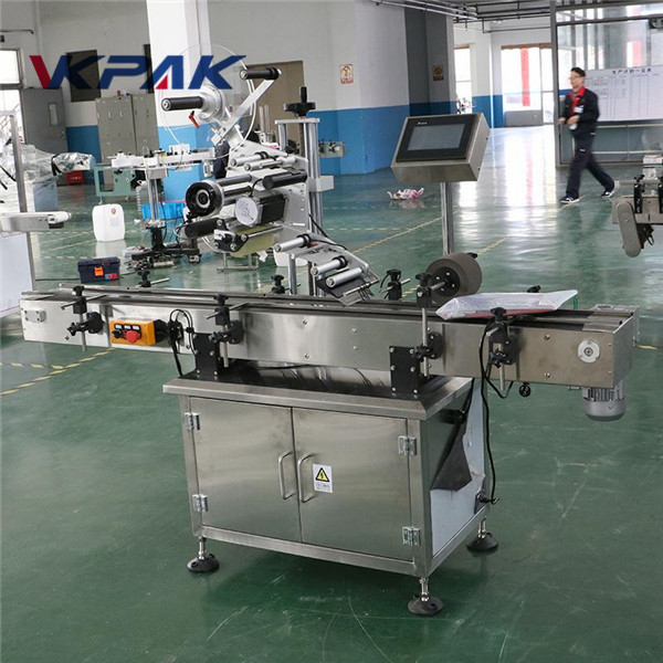 Multi Function Label Applicator Machine For Boxes , Auto Labelling Machine
