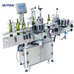 Multiple – Purpose Stick Round Bottle Labelling Machine For Red Wine PLC Control