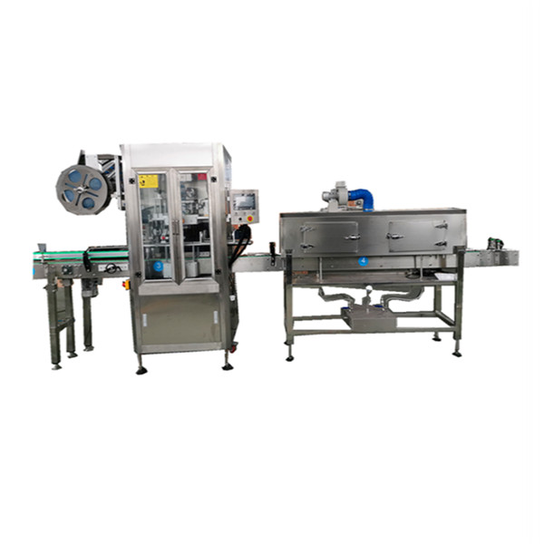 OPS Stainless Shrink Sleeve Applicator Machine For Bottles