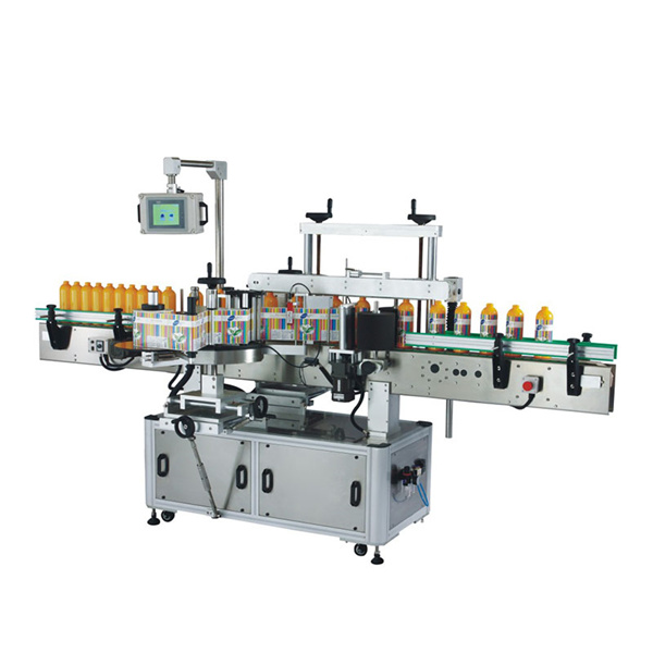 Odm Plastic Bottle Labeling Machine With Plc And Touch Screen