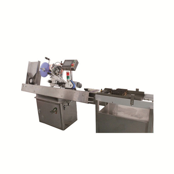 Oral Bottle Vial Sticker Labeling Machine Stainless Steel Customized Pharmaceutical