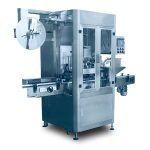 Overall Bottle Stainless Shrink Sleeve Labeling Machine High Speed 200 BPM 3.5KW