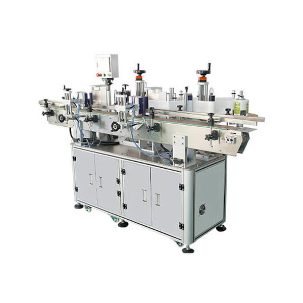 PCL Control Automatic Sticker Labeling Machine For Round
