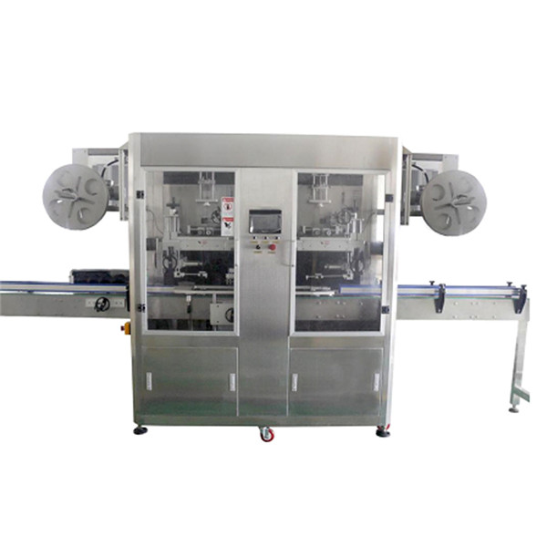 PET Bottle Stainless Steel Shrink Sleeve Labeling Machine For Various Bottles CE