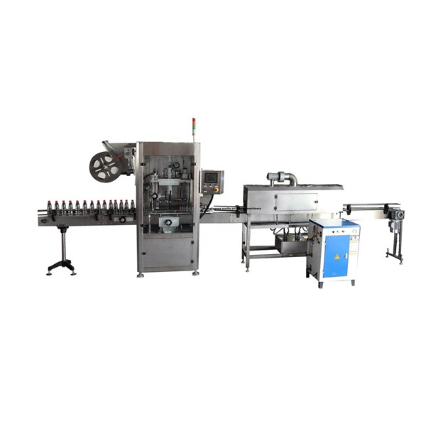 PET Functional Stainless Shrink Sleeve Label Applicator Machine