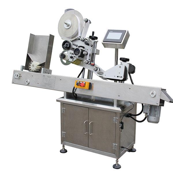 PLC Touch Screen Control Label Applicator Machine