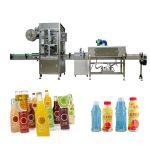 Pet Bottle Shrink Sleeve Labeling Machine With Shrink Tunnel / Steam Generator
