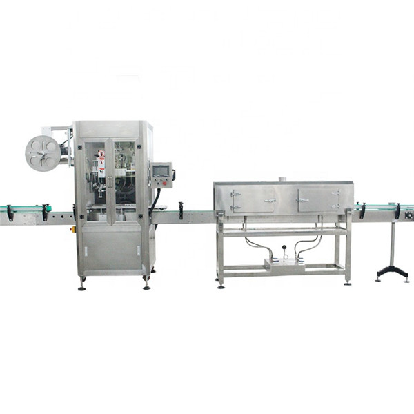 Plastic Cup High Speed Shrink Sleeve Labeling Machine With Steam Generator