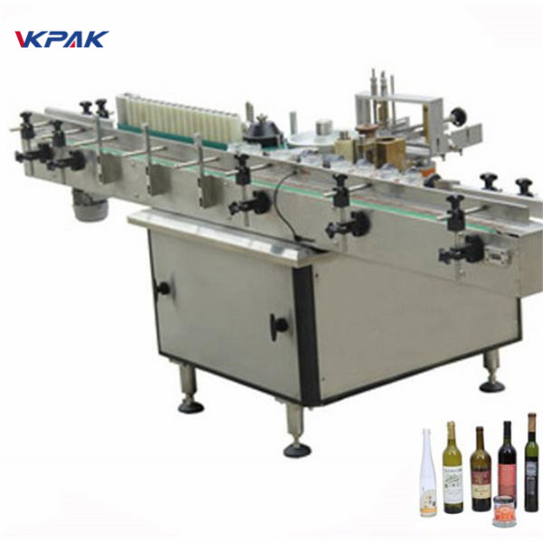 Plastic Tag Labeling Machine For Double Sides Or Single Side