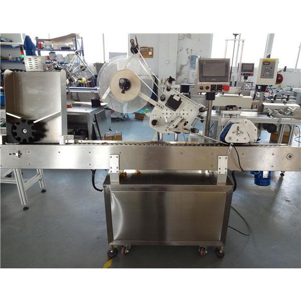 Plc Control Economy Automatic Vial Horizontal Labeling Machine For Mini Bottle