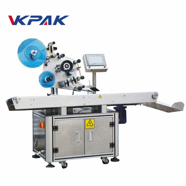 Poly Bag Flat Surface Label Applicator Machine