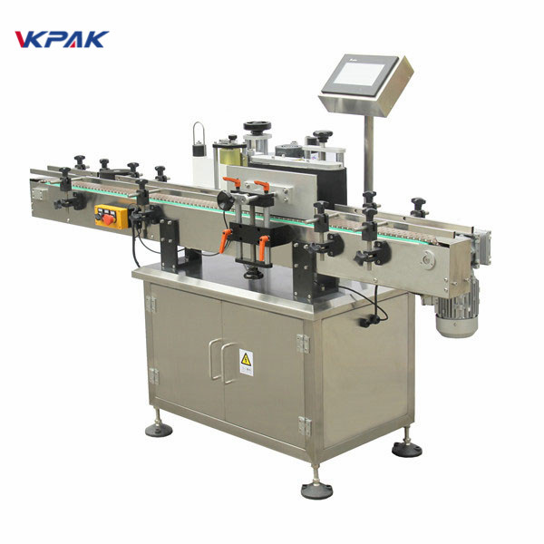 Pressure Sensitive Round Bottle Sticker Labeling Machine