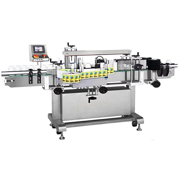 Professional Double Side Sticker Labelling Machine With Collection Worktable
