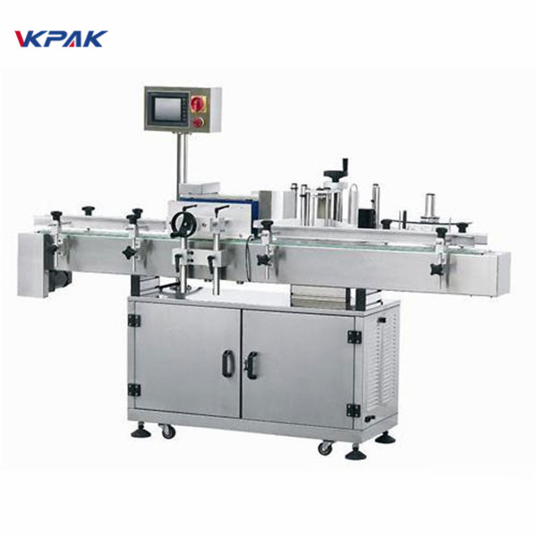 Round Bottle Automatic Labeling Machine For Drinks