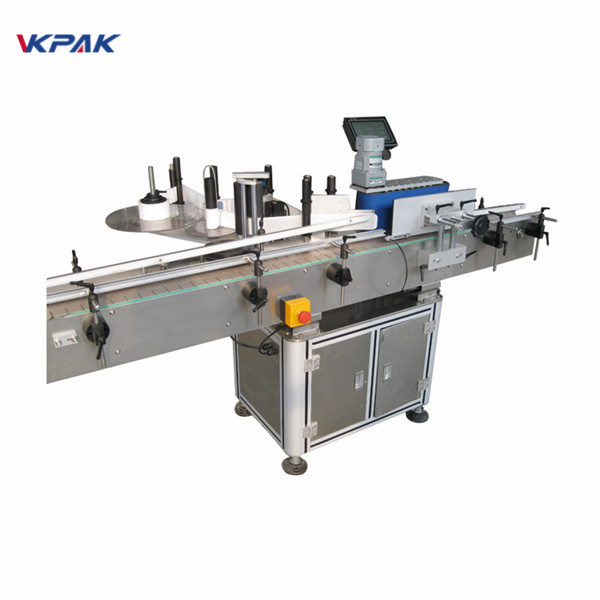 Round Bottle Automatic Sticker Labelling Machine