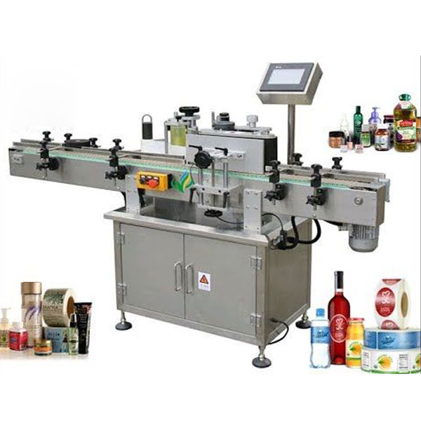 Round Bottle Labeling Machinery , Wrap Around Label Applicator