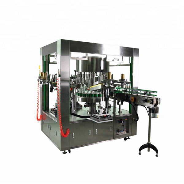 Round Bottle Rotary Labeler With Rotation Dish Labeling Machine System