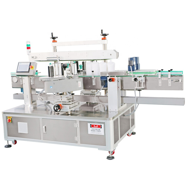 Self Adhesive Front And Back Double Side Labeling Machine