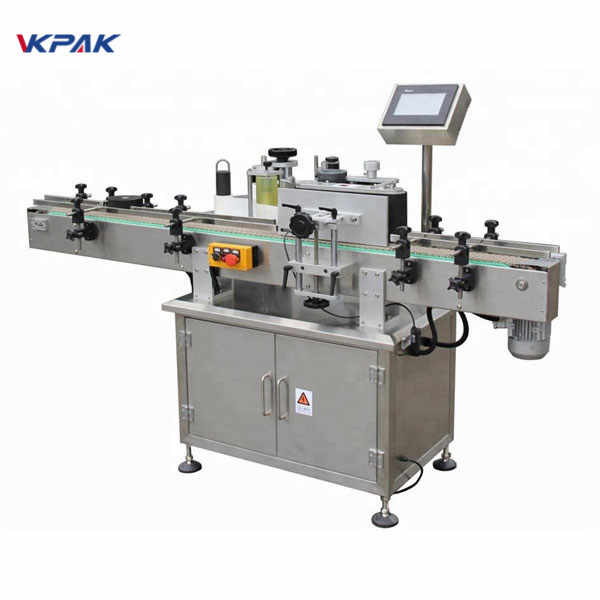Self Adhesive Label Applicator Machine For Jar High Speed Sticker