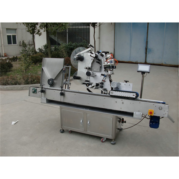 Servo Motor Vial Sticker Labeling Machine Automatic Sticker Ampoule Tube