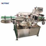 Shoe Polish Round Bottle Labeling Machine / Labelling Machine For Vials