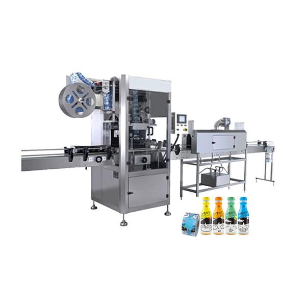 Shrink Sleeve Applicator Machine For Plastic Water Bottles 100 BPM