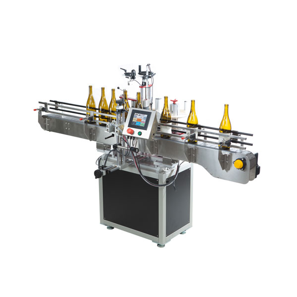 Siemens Plc Automatic Round Bottle Labeling Machine For Plastic And Glass Bottle