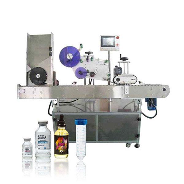 Siemens Plc Vial Servo Controller Automatic Horizontal Labeling Machine