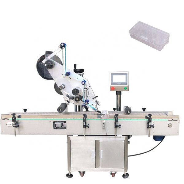Single Side Square Bottle Labeling Machine